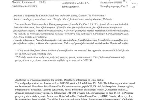 Pestycydy i Metale Ciężkie EN + PL-3